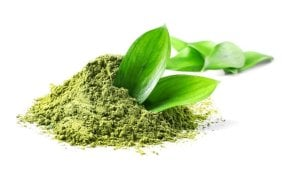Metabolism boosting matcha green tea